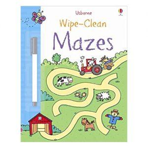 Wipe-Clean: Mazes