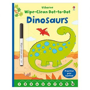 Wipe-Clean Dot-To-Dot: Dinosaurs