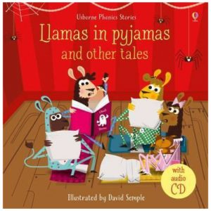 Llamas in Pyjamas and Other Tales With CD (Phonics Readers)