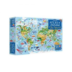 Atlas of the World Picture Book & Jigsaw The World