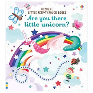 Are you there little Unicorn? (Little Peep-Through Books)