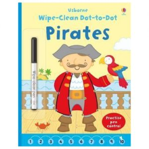Wipe-Clean Dot-To-Dot: Pirates