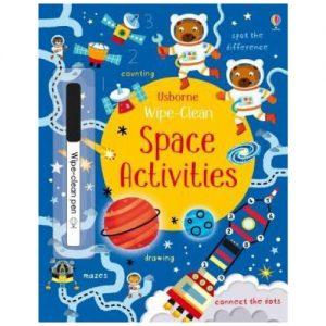 Wipe-Clean: Space Activities