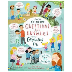 Lift-The-Flap Questions And Answers: About Growing up